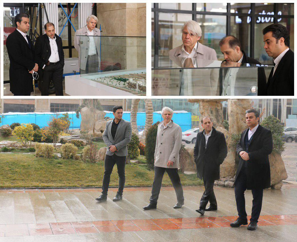 بازدید نمایندگان شرکت Detecon آلمان از مجموعه گردشگری پدیده شاندیز