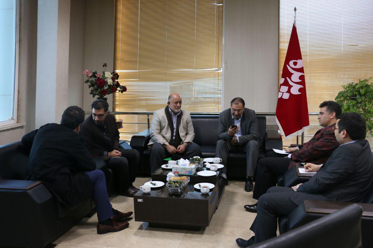 دیدار نماینده ارومیه در مجلس شورای اسلامی با مدیرعامل پدیده