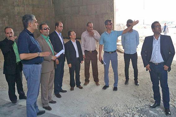بازدید سرمایه گذاران به همراه مشاور رئیس کل سازمان سرمایه گزاری و کمک های اقتصادی و صنعتی ایران از پروژه ی پدیده شاندیز کیش
