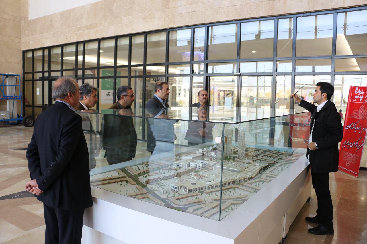 مدیر عامل بانک سپه استان خراسان رضوی از پروژه های پدیده در شاندیز بازدید کرد