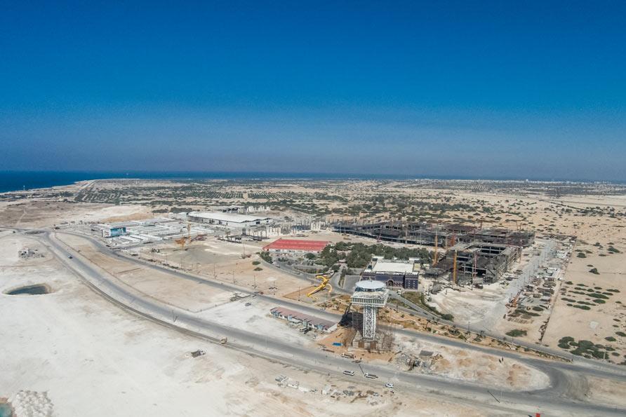 تصاویر هوایی پیشرفت فیزیکی شهر افسانه ای پدیده کیش