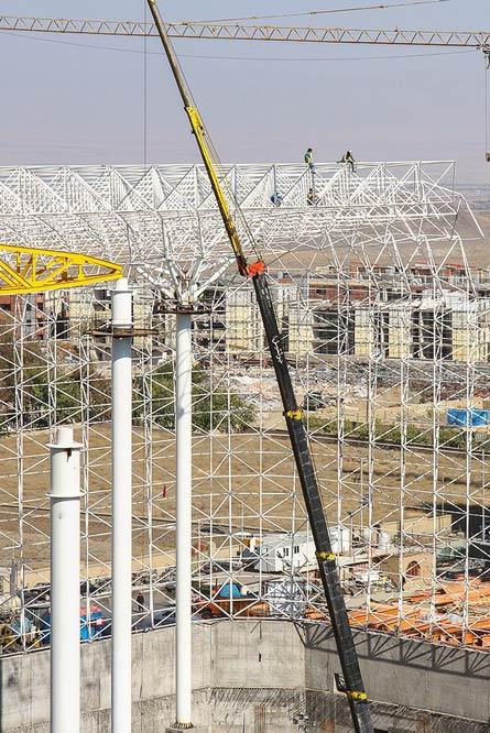 """بزرگترین پارک آبی سرپوشیده خاورمیانه در """"پدیده"""""""