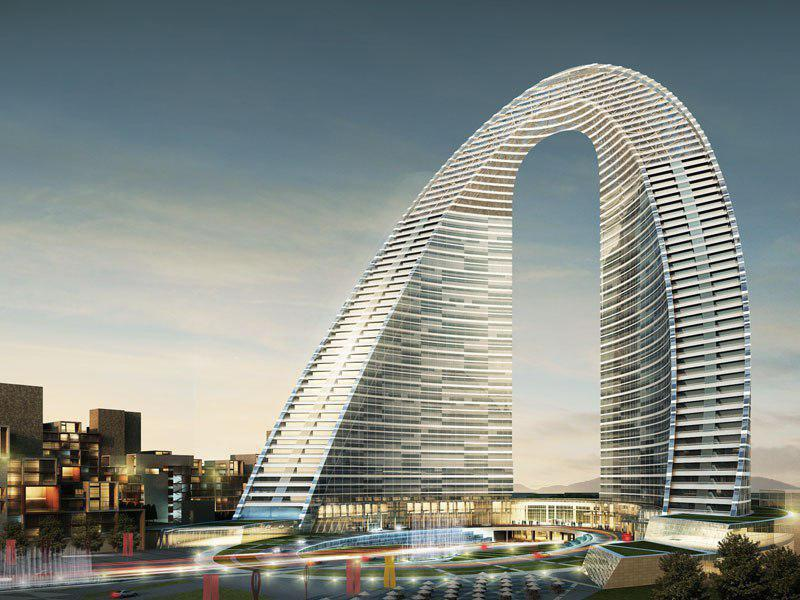 مجوز ساخت ۳۴ طبقه از هتل پدیده شاندیز صادر شد