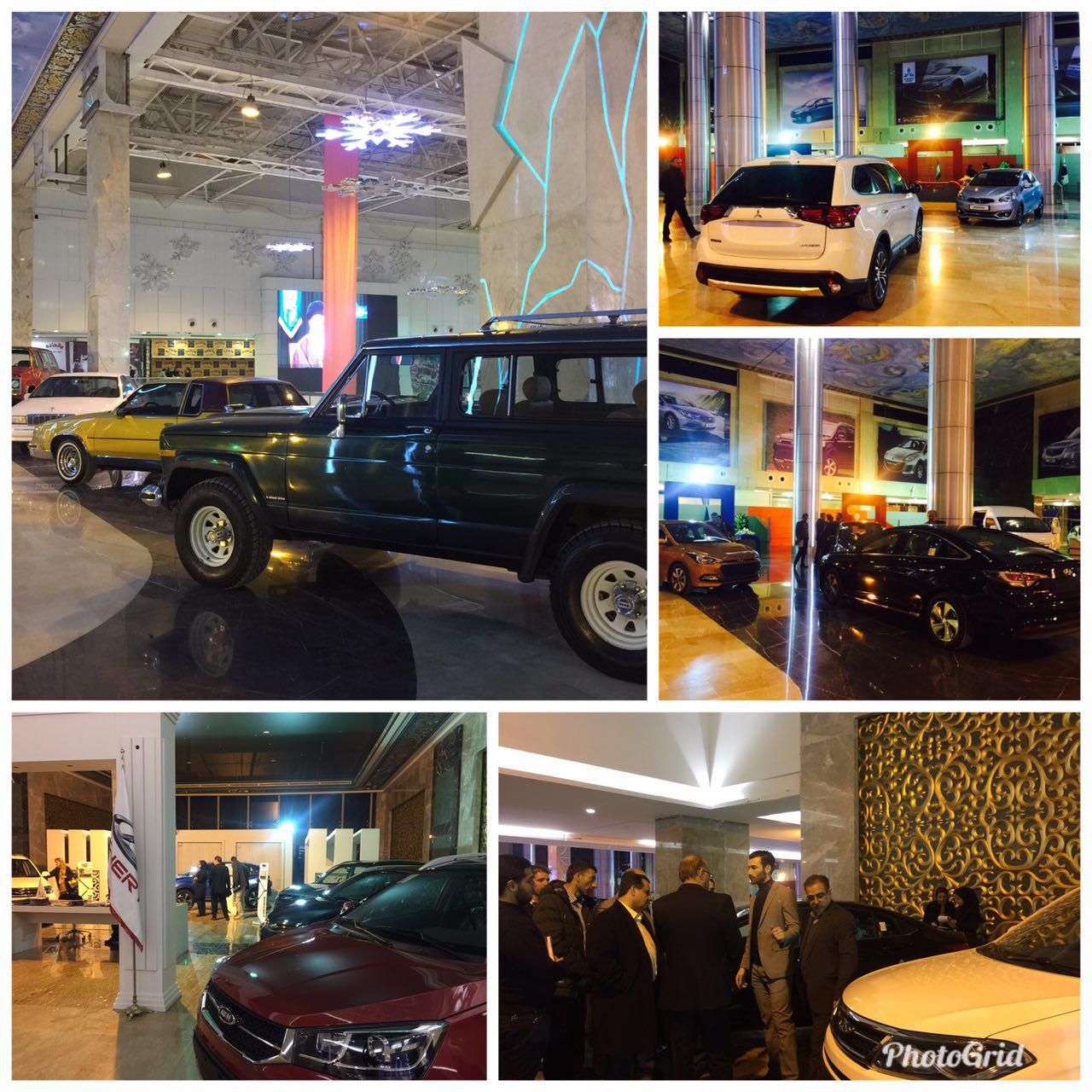 افتتاح نمایشگاه تخصصی خودرو در پدیده شاندیز