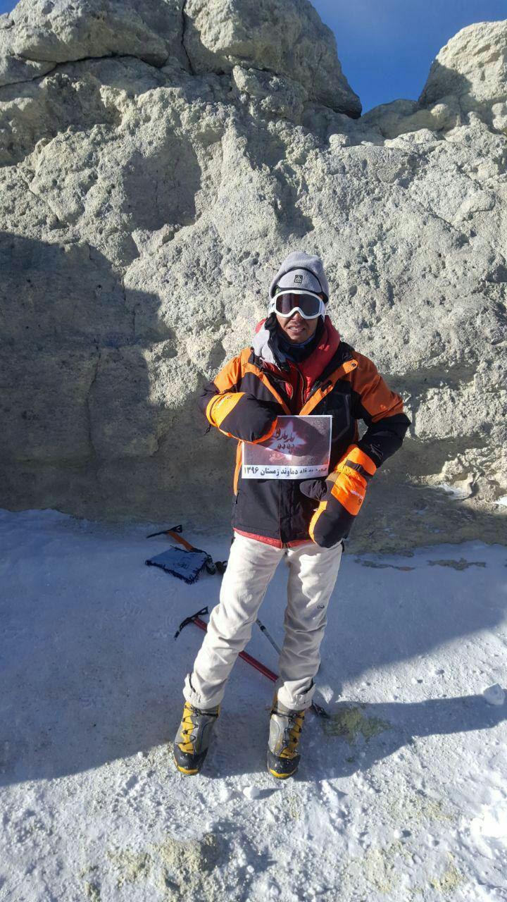 نوجوان شاندیزی صعودش به بلندترین قله خاورمیانه را به پدیده تقدیم کرد