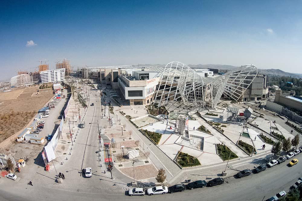 گزارش تصویری پیشرفت فیزیکی شهر رویایی پدیده شاندیز